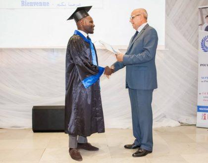 Cérémonie de remise des diplômes 2017/2018
